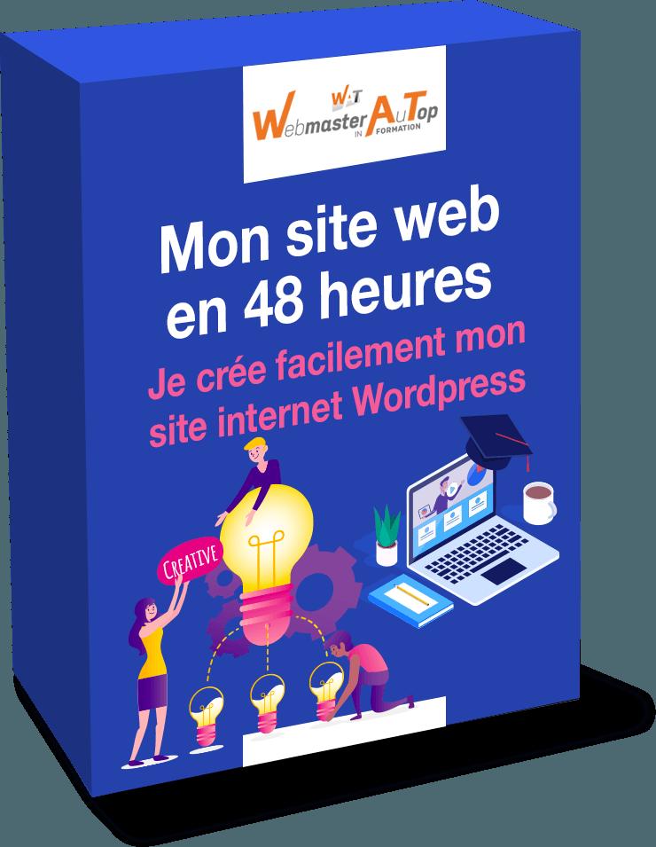 Formation Wordpress complète de A à Z pour la création de site internet