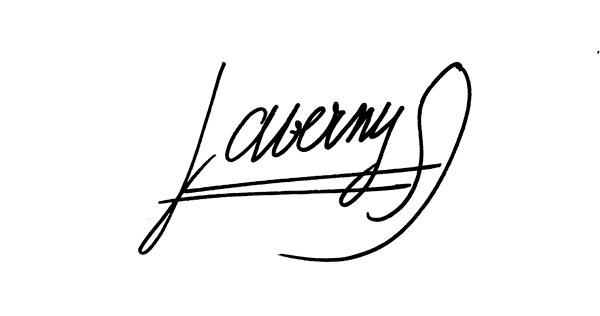 Signature Serge-Jérôme Laverny